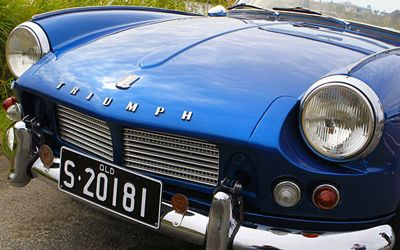 Triumph Sports Six Club's West of England Gathering at Southfork